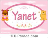 Yanet - Nombre para bebé