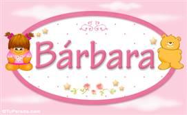 Bárbara - Nombre para bebé