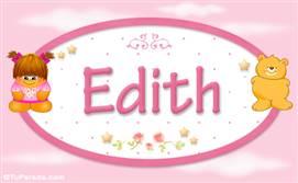 Edith - Nombre para bebé