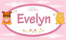 Evelyn - Nombre para bebé