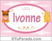 Ivonne - Nombre para bebé