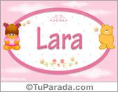 Lara - Nombre para bebé