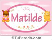 Matilde - Nombre para bebé