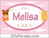 Melisa - Nombre para bebé
