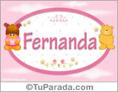 Nombre Nombre para bebé, Fernanda