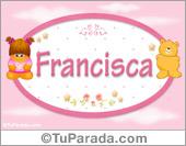 Nombre Nombre para bebé, Francisca