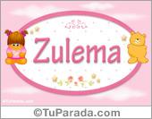 Nombre Nombre para bebé, Zulema