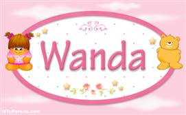 Wanda - Nombre para bebé