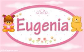 Eugenia - Nombre para bebé