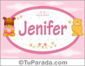 Jenifer - Nombre para bebé