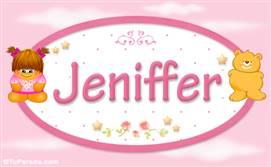 Jeniffer - Nombre para bebé