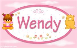 Wendy - Nombre para bebé