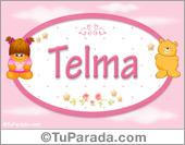 Nombre Nombre para bebé, Telma