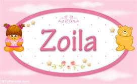 Zoila - Nombre para bebé