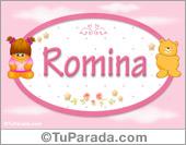 Romina - Nombre para bebé