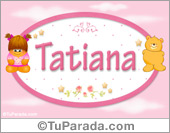 Nombre Nombre para bebé, Tatiana