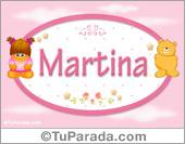 Martina - Nombre para bebé