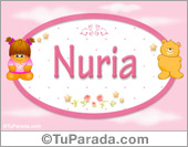 Nuria - Nombre para bebé