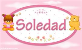 Soledad - Nombre para bebé