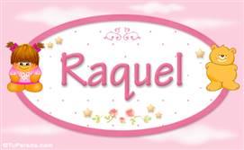 Raquel - Nombre para bebé