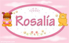 Rosalía - Nombre para bebé