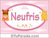Neufris - Nombre para bebé