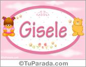 Gisele - Nombre para bebé