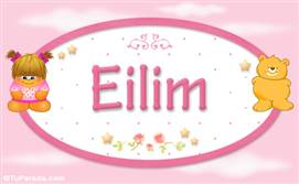 Eilim - Nombre para bebé