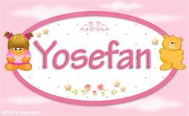 Yosefan - Nombre para bebé