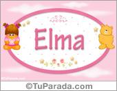 Elma - Nombre para bebé