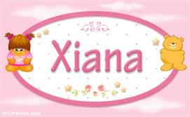 Xiana - Nombre para bebé