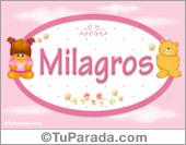 Nombre Nombre para bebé, Milagros
