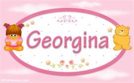 Georgina - Nombre para bebé