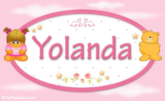 Yolanda Nombre Para Bebe Nombres Para Ninas Bebes Osito Nena