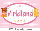 Nombre Nombre para bebé, Viridiana
