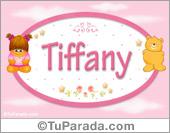 Tiffany - Nombre para bebé