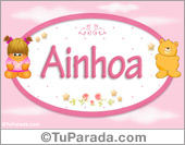 Ainhoa - Nombre para bebé