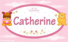 Catherine - Nombre para bebé