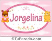Jorgelina - Nombre para bebé