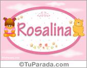 Nombre Nombre para bebé, Rosalina