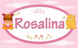 Rosalina - Nombre para bebé
