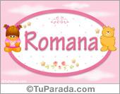 Romana - Nombre para bebé