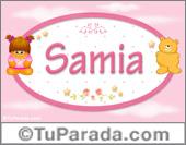Samia - Nombre para bebé