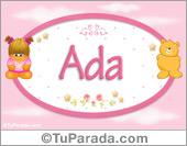 Ada - Nombre para bebé