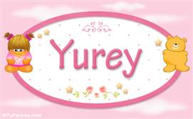 Yurey - Nombre para bebé
