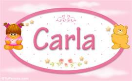 Carla - Nombre para bebé