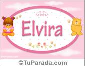 Elvira - Nombre para bebé