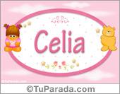 Celia - Nombre para bebé