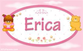 Erica - Nombre para bebé