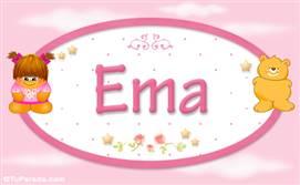 Ema - Nombre para bebé